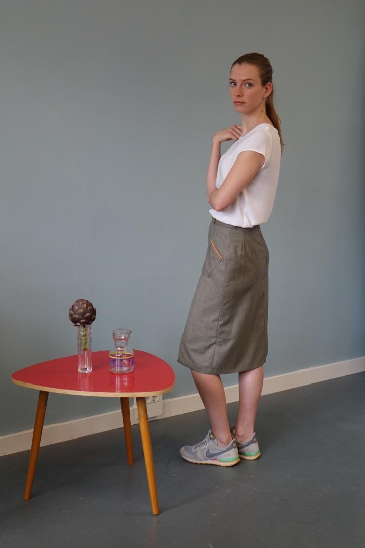 Model Hanna in Pose